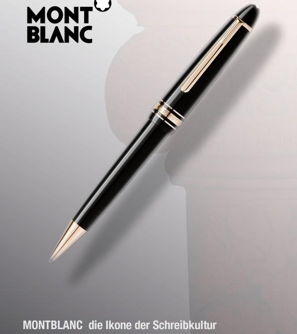 MONTBLANC Die Ikone der Schreibkultur