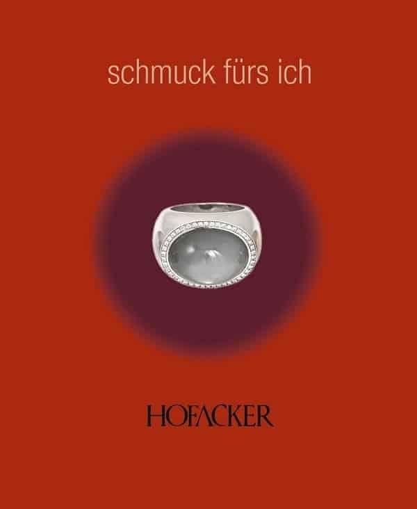 Goldschmiede Hofacker Ring mit Diamanten Titelbild