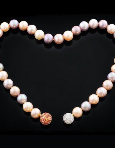 Goldschmiede Hofacker Süßwasser Perlenkette