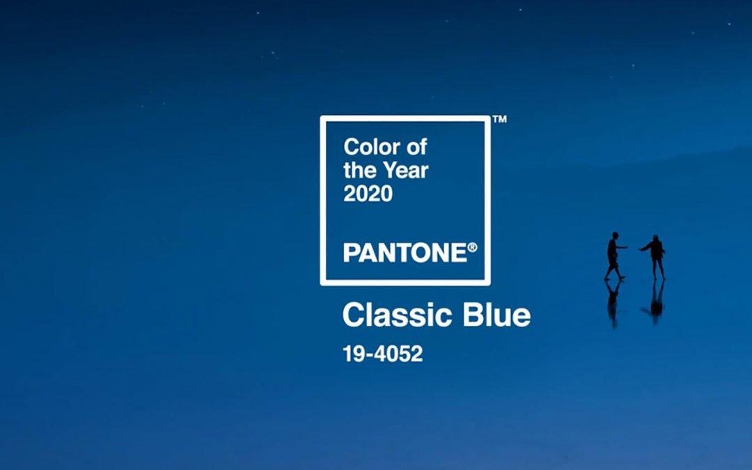 Pantone Classic Blue ist die Farbe des Jahres 2020