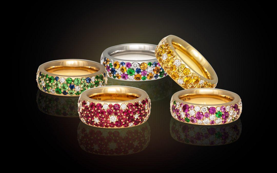Wundervolle Ringe aus der Collection Mystère