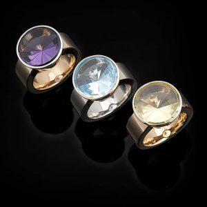 Ringe aus der Collection Couleur von Goldschmiede Hofacker