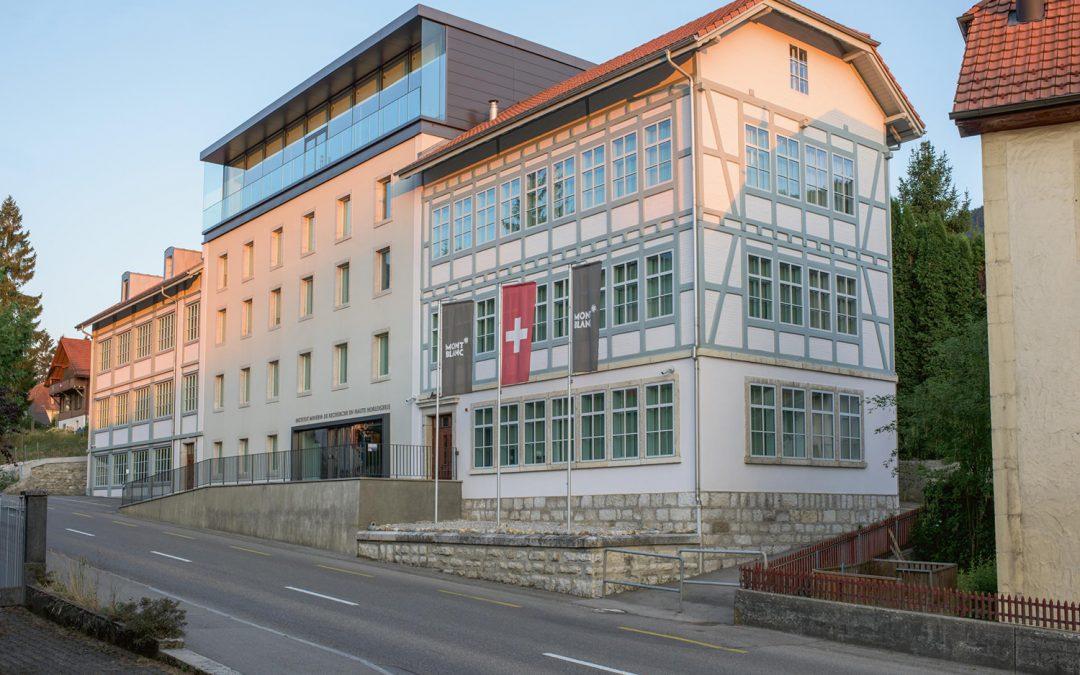 Der Hauptsitz der Montblanc Uhrmacherkunst in Villeret