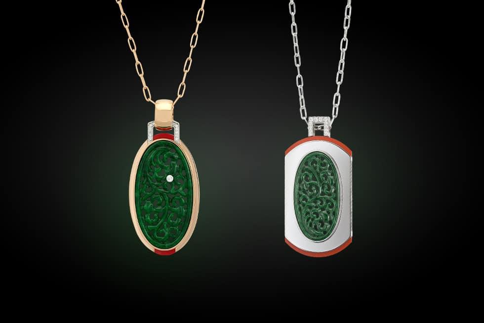 Begehrter Glücksbringer: Unikate aus grünem Jadeit